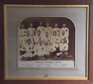 1890 England Rugby Team captained by Francis Fox