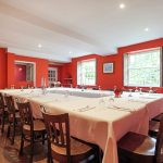 Tone Dale House has a wonderful large dining room for groups of up to 40 to enjoy celebration dinners in style