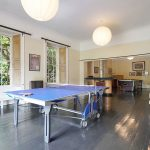 The games room at Tone Dale House provides big groups with plenty to do including table tennis, pool and roulette