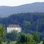 Corporate retreats love the privacy of the Austrian Castle in its wooded setting