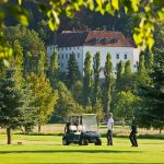 The golf course adjacent to the Austrian Castle is a popular facility with groups at the Austrian Castle