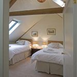 For a large party house such as Berry House, it's ideal to have some bedrooms tucked away in quieter parts of the house