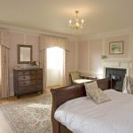 The Buck bedroom has an antique sleigh bed, from which to enjoy the views over the countryside with your morning cuppa!