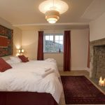 The Dairy bedroom at Berry House, North Devon is on the ground floor and suits guests with accessibility needs