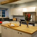 The country style kitchen at Cotswold Manor