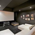 This house has an indoor and outdoor cinema