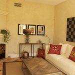 Comfortable seating for groups at Marbella Villa