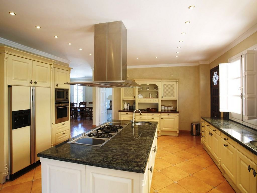 The kitchen at Marbella Villa