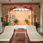 The Jacuzzi area at Marbella Villa