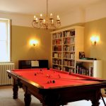 The Snooker Room provides great fun during a large group holiday.