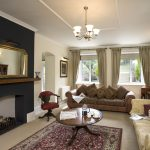 One of the two sitting rooms at Widcombe Grange where large groups can relax and have fun