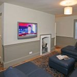A room to relax in, watch TV and chill out over the weekend with friends and family