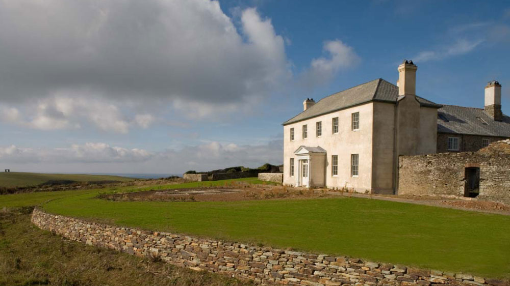 Berry House in North Devon, is in a stunning countryside setting and has 10 bedrooms.