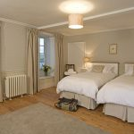The Luttrell Bedroom at Berry House is spacious and comfortable, decorated in soft colours