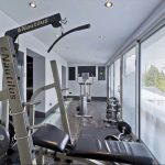 The gym is a great entertainment for large family groups staying at Midlands Villa, near Birmingham