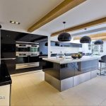Our big groups love this contemporary kitchen at Midlands Villa