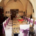 A magnificent dining room for big celebratory dinner parties.