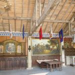 The Outer Bailey Ground Floor Barn is ideal for weddings and large group parties at the French Castle.