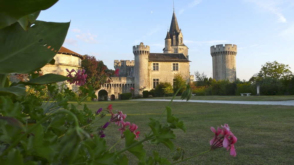 The French Castle is a holiday home for between 15 and 35 guests.