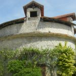 The exterior of the Dovecote in the grounds of the French Castle.