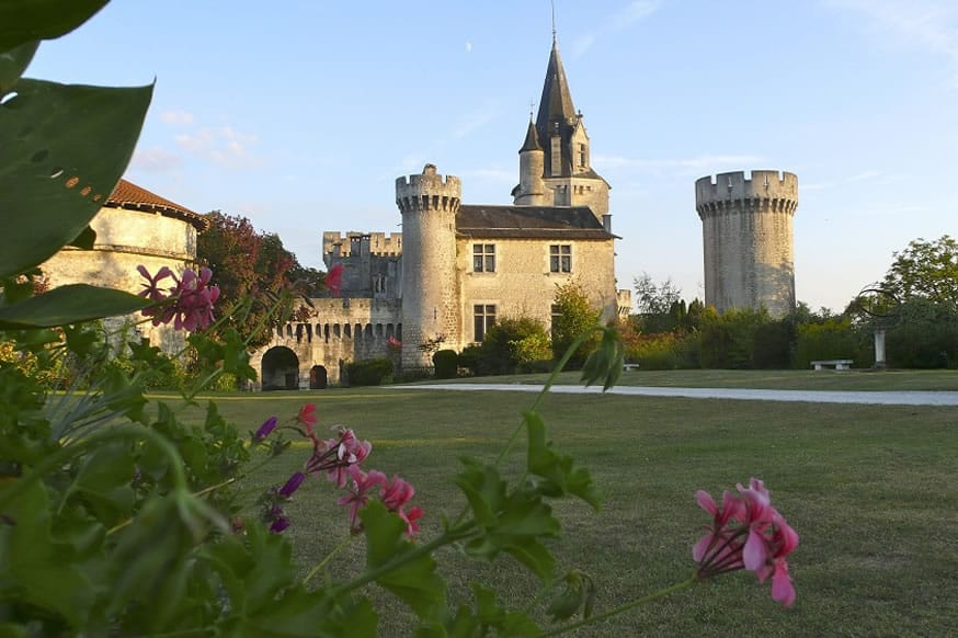 The large, impressive, French Castle is available to hire through The Big House Company