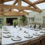 The dining area is large enough for up to 22 guests to enjoy their birthday celebrations