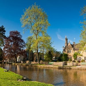 The Cotswolds village of Bourton on the Water