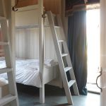 Bedroom 5 has bunk beds at Cliff Barns