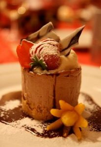 Exquisite deserts are a specialty of some of our local chefs in Norfolk
