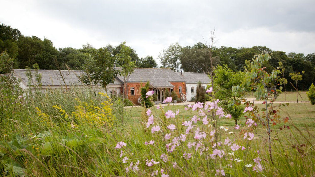Cliff Barns has an idyllic countryside setting in Norfolk and is available to hire through The Big House Company