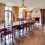 The elegant dining room at Sussex Manor seats groups of up to 16