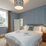 Bedroom 4 with en-suite at Dorset Lodge