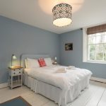 The 7 bedrooms are a mixture of doubles and twins for a group stay in Dorset