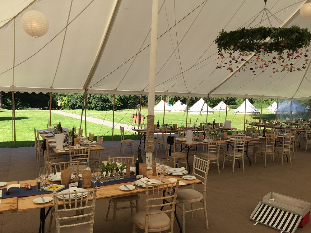 House party wedding weekends at Widcombe Grange