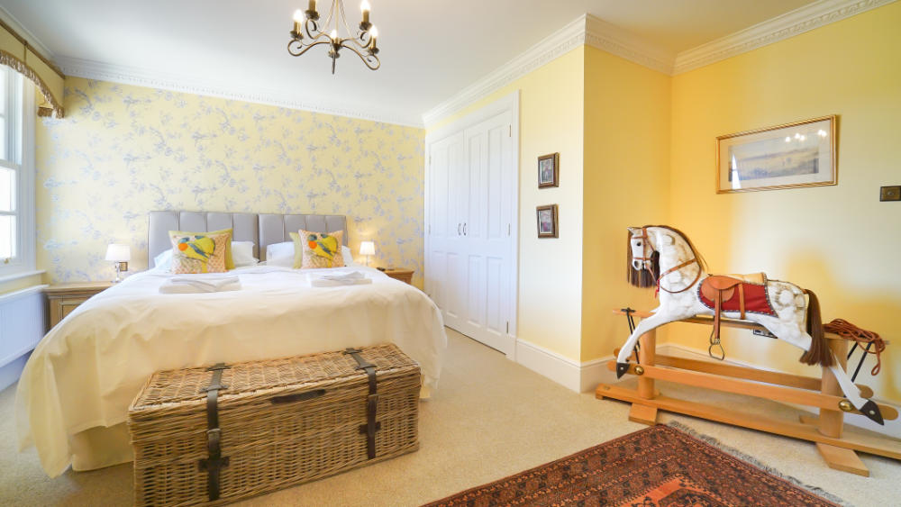 The 10 en-suite bedrooms all have extremely comfortable beds and are individually decorated