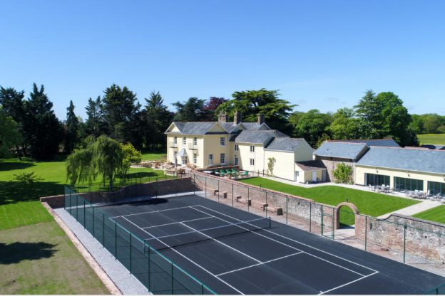 Tatham House, a ten bedroom large house with indoor pool, tennis court & hot tub, available through The Big House Company
