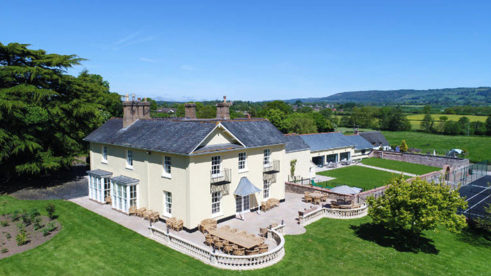 Tatham House, a large holiday house for up to 22 guests, available to hire through The Big House Company