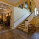 Our party house in Somerset has a grand entrance hall.