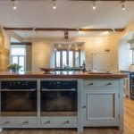 The large kitchen is perfect for cooking for big groups of friends or family.
