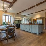 The spacious kitchen is a favourite with guests of The Big House Company.