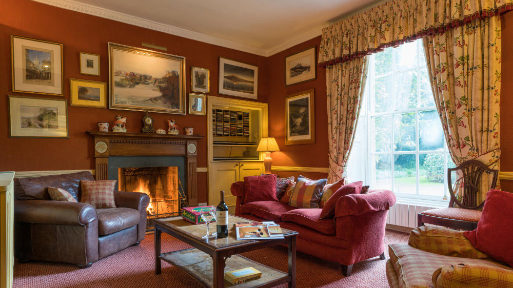 Cosy sofas for guests of The Big House Company at this large house