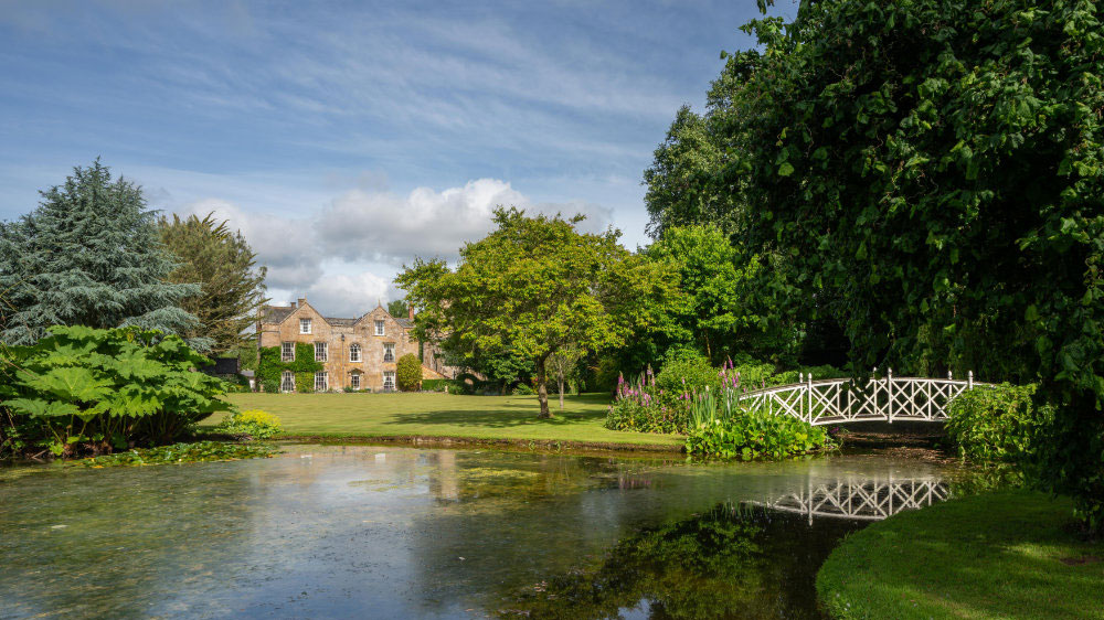 Manor house in Somerset available through the Big House Company