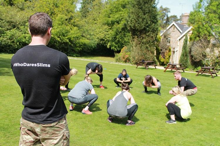Weight loss retreats in Somerset