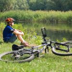 Cycling in the Cotswolds countryside
