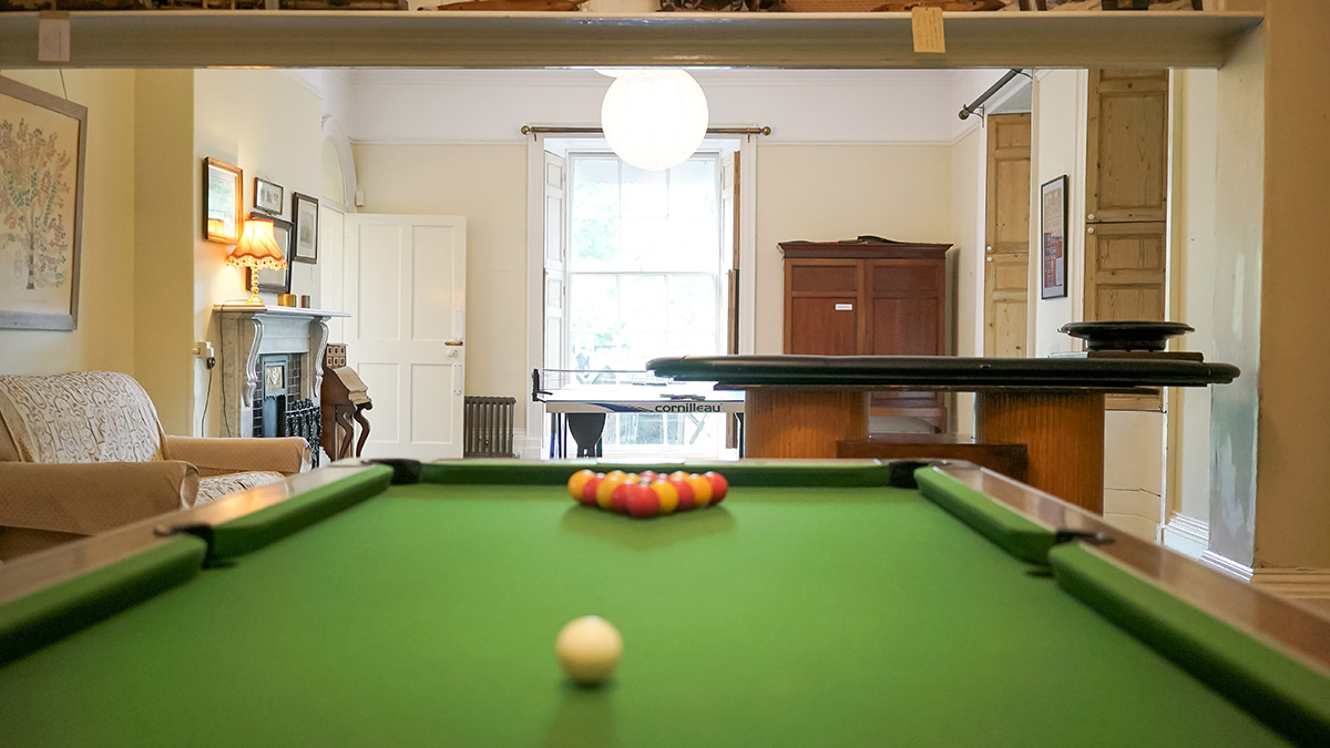 Tone Dale House - Snooker Room