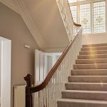 Impress your group of friends with this grand staircase and hallway.