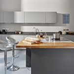 The stylish kitchen at our party house is well equipped for catering for groups.