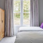 Individually decorated, stylish bedrooms at our big house to rent near Cheltenham