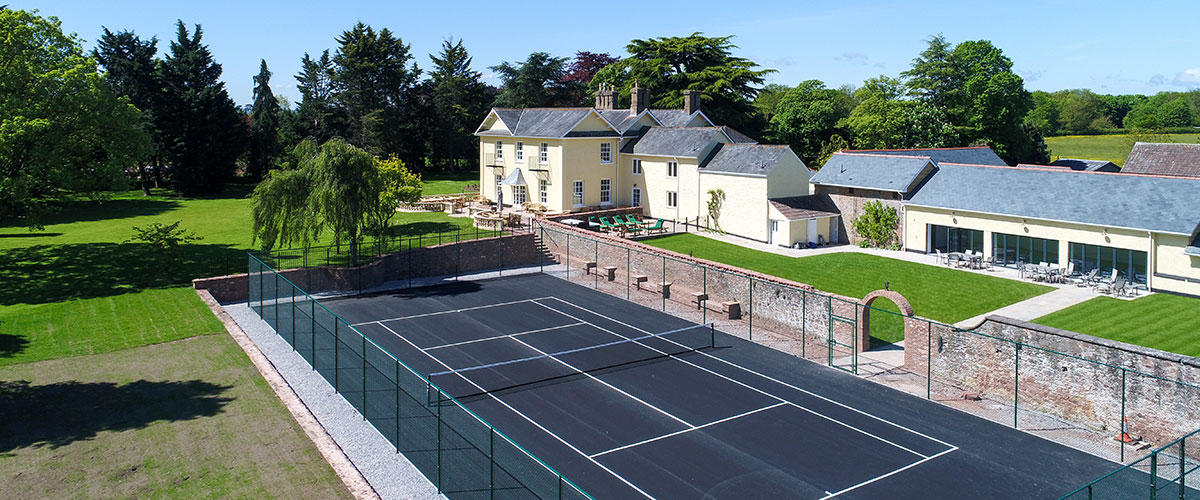 Tatham House has an indoor pool, tennis court and 10 en-suite bedrooms.
