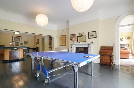 Tone Dale House games room